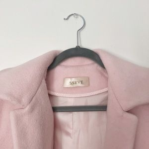sseve Jackets & Coats - Pink wool coat